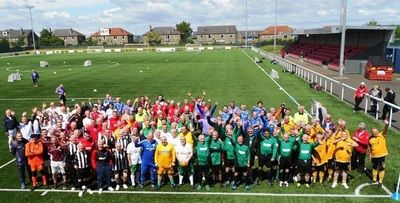 Latest news Record number of teams to compete in Scottish Waking Football Festival today