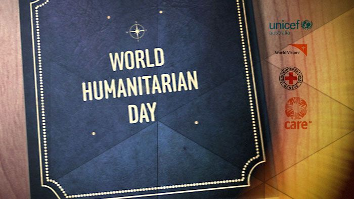 Tuesday the 19th of August is World Humanitarian Day. Humanitarian being a pretty complicated word for people who help other people in need. So we asked Rookie Reporter Josh who's an ambassador for UNICEF to introduce us to a few of the humanitarians helping out in areas of need.