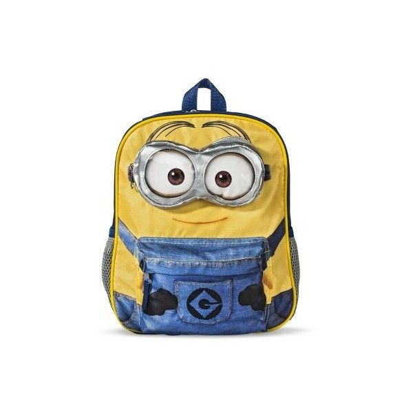 Despicable Me Boys' Minion Backpack ($15) ❤ liked on Polyvore featuring minions