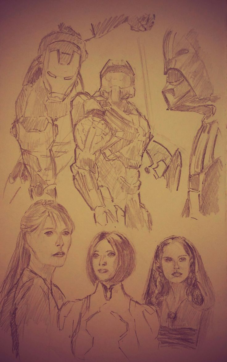 Heroes of our imagination. Pepper, Vader, Cortana, Iron Man, Padme and the Master Chief