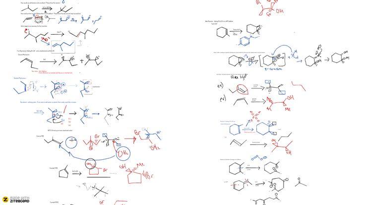 Teaching chemistry with online whiteboard -- Ziteboard