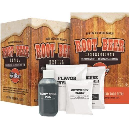 Coopers LLC/Mr Beer Mr Rootbeer Kit Refill 60401 Unit: Each