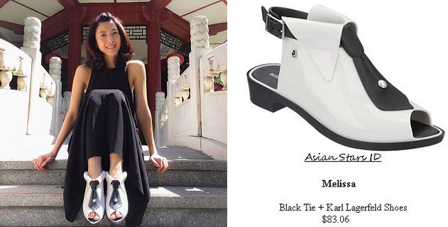 The Dream Makers 2 - Jeanette Aw: Melissa Black Tie   Karl Lagerfeld Shoes $83.06