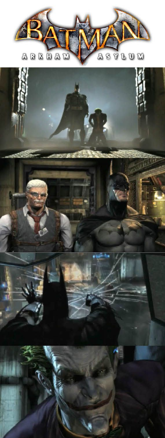 In #Arkham Asylum #Batman is on Arkham Island with the inmates and prisoners from Blackgate Prison! http://www.levelgamingground.com/batman-arkham-asylum-review.html
