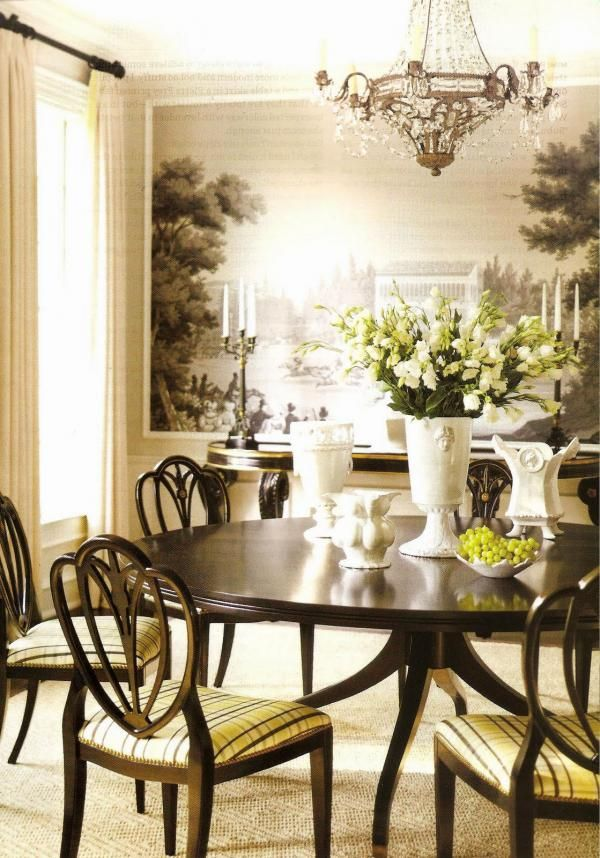 Today We Have A Collection Of Amazing Wallpaper Ideas For Your Beautiful Dining Room Checkout