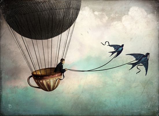 Poster | AROUND THE WORLD IN A TE von Christian Schloe | more posters at http://moreposter.de