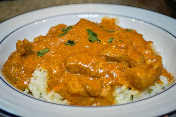 slow cooker butter chicken, crock butter chicken, butter chicken recipe, indian food recipe