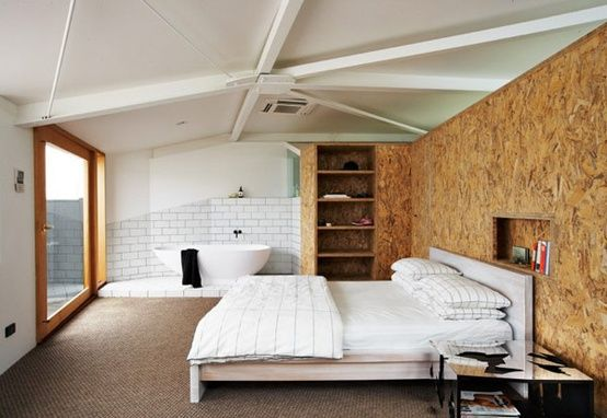 Wall Paneling Interior with OSB pros and cons
