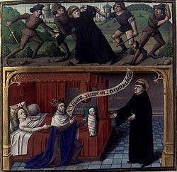Saint AMAND et DAGOBERT 1°. Vincentius Bellovacensis, speculum historiale…