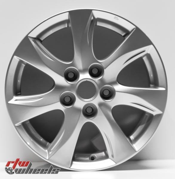 "16"" Mazda 3 oem replica wheels 2010-2011  for rims 64927 - https://www.rtwwheels.com/store/shop/16-mazda-3-oem-replica-wheels-for-sale-rims-aly64927u20n/"