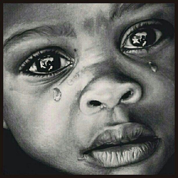 Captured those beautiful weeping eyes!