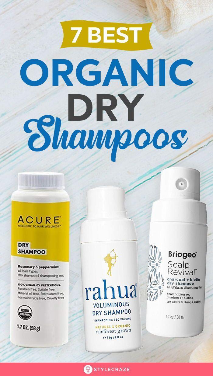7 Best Organic Dry Shampoos 2020 Organic Dry Shampoo Dry Shampoo Dry Shampoo Powder