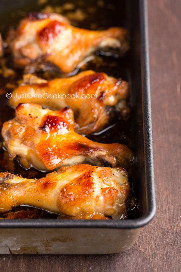 Honey Soy Sauce Chicken. Bake marinated chicken pieces in Airfryer baking dish at 200deg for 18 to 20 minutes. Turn halfway through.