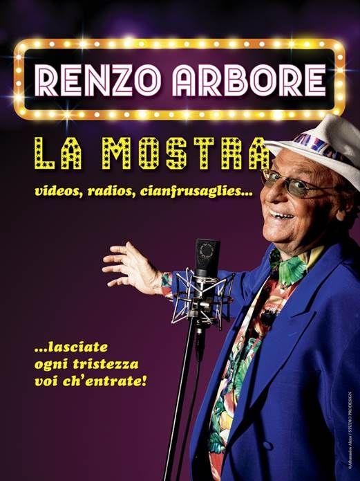Renzo Arbore - La mostra - videos, radios, cianfrusaglies - ...lasciate ogni tristezza voi ch'entrate