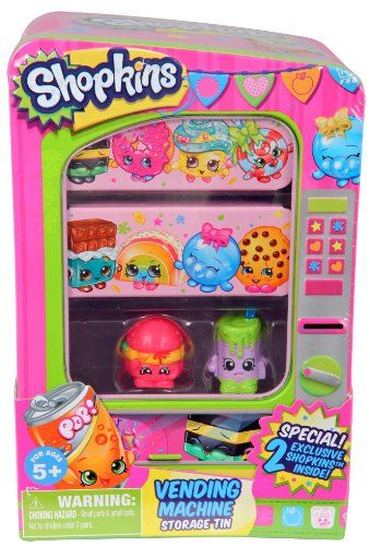 Black Friday 2014 Shopkins Vending Machine from Shopkins Cyber Monday. Black Friday specials on the season most-wanted Christmas gifts.
