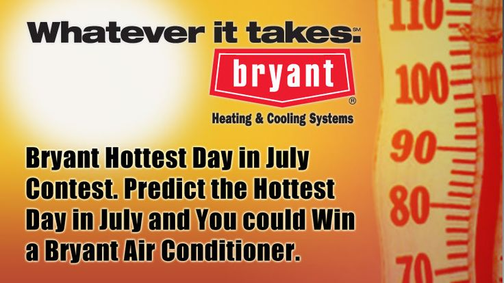 Predict the Hottest Day in July and you could WIN a Bryant Air Conditioner! | FOX31 Denver