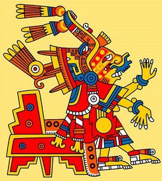 Xochiquétzal es la diosa del amor, la belleza, las flores, la fertilidad, la patrona de las jóvenes, del embarazo, los partos y de los oficios femeninos.