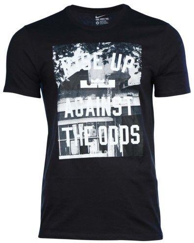 Nike Men's Dri-Fit LeBron James Open Basketball T-Shirt-Black-XL