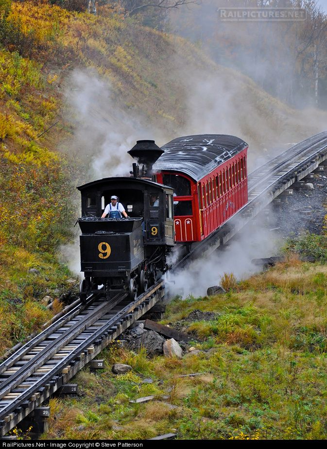 Mt. Washington Cog Railway --For those of you that want the nostalgia of an antique steam train, we run a Steam Special at 8:15 am most days. Make your reservations early as this is the only definite steam train each day!(Just 6 miles from Rt. 302 In Bretton Woods, NH) -- 3168 Base Station Road Marshfield Station, NH  **603-278-5404