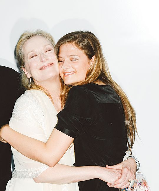 coconutmilk83:   Meryl Streep and her daughter... - .Queen of Hollywood.