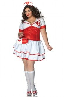 Cheap dress plus size nurse