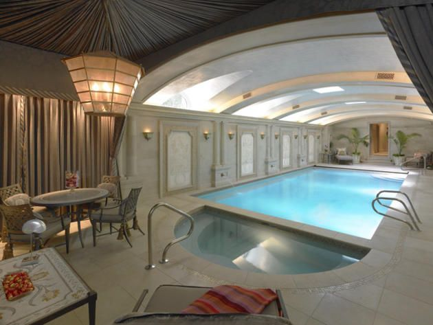 Chicago Mansion With Glam Indoor Pool http://www.frontdoor.com ...