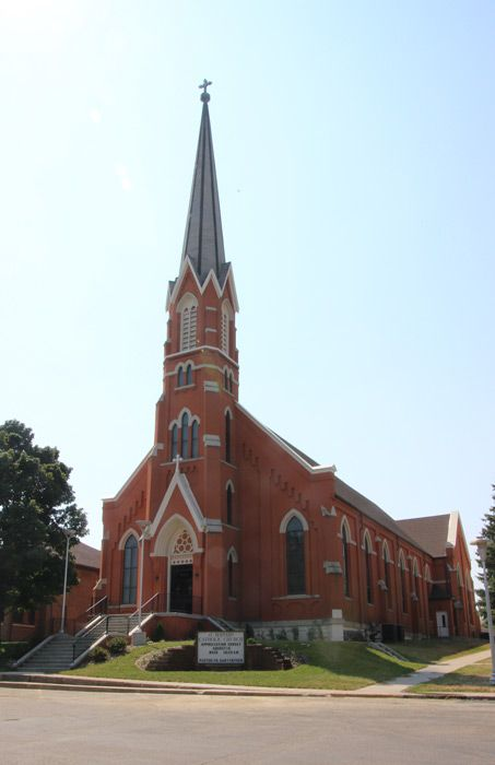 Historic St. Bernard Catholic Church - Grandma & Grandpa were married here in 1948.