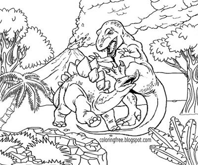 Prehistoric Jurassic World Dinosaurs Park Science Fiction