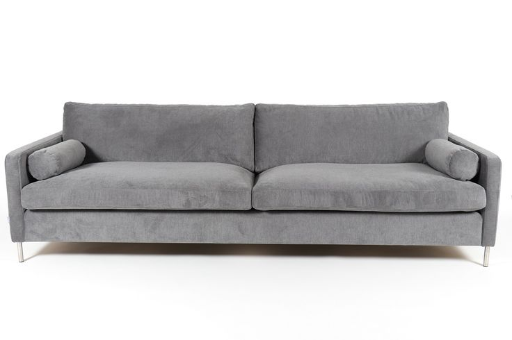 Riktigt snygg och modern 4-sits soffa med extra djup. Höga metallben gör det lätt att städa under soffan. Snygga runda sidokuddar medföljer. Finns även som 3 sits, 2 sits och fåtölj. Stoppning i kallskum med topp av fjäder och krossat skum ger väldigt bra komfort. Finns i flera hundra olika tyger och färger samt i skinn. Priset avser Pg3 tyg. I bildens Pg5 tyg: 10.995:-.