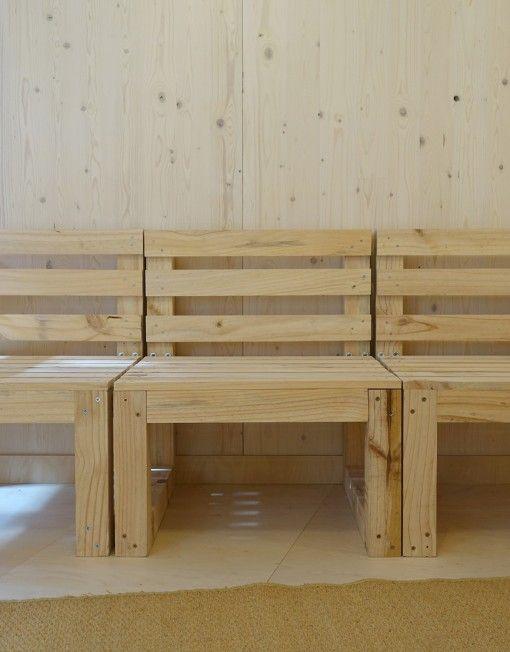 M s de 25 ideas incre bles sobre sillones con palets en - Sillon hecho de palets ...