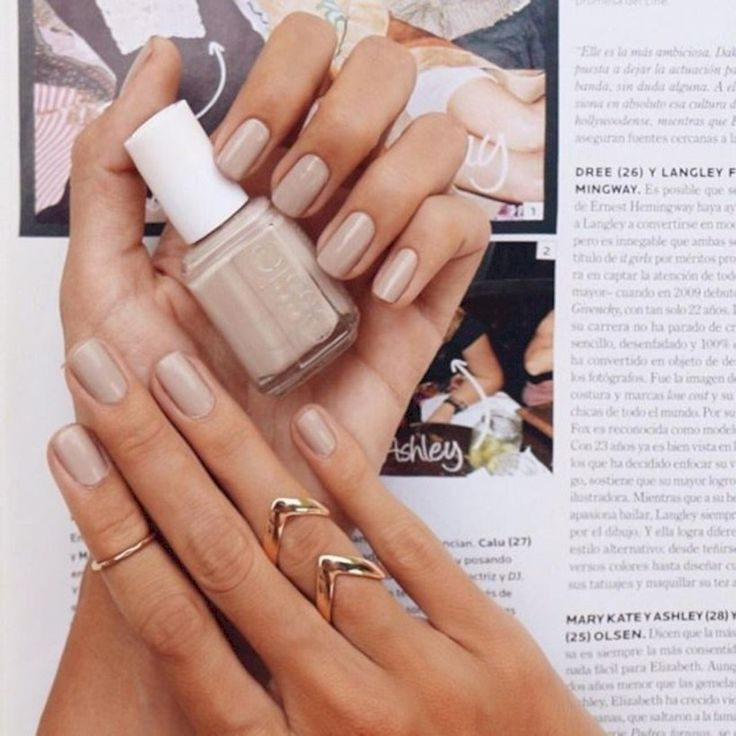 36 Neutral Nail Colors that Pair With Any Outfit – Nails