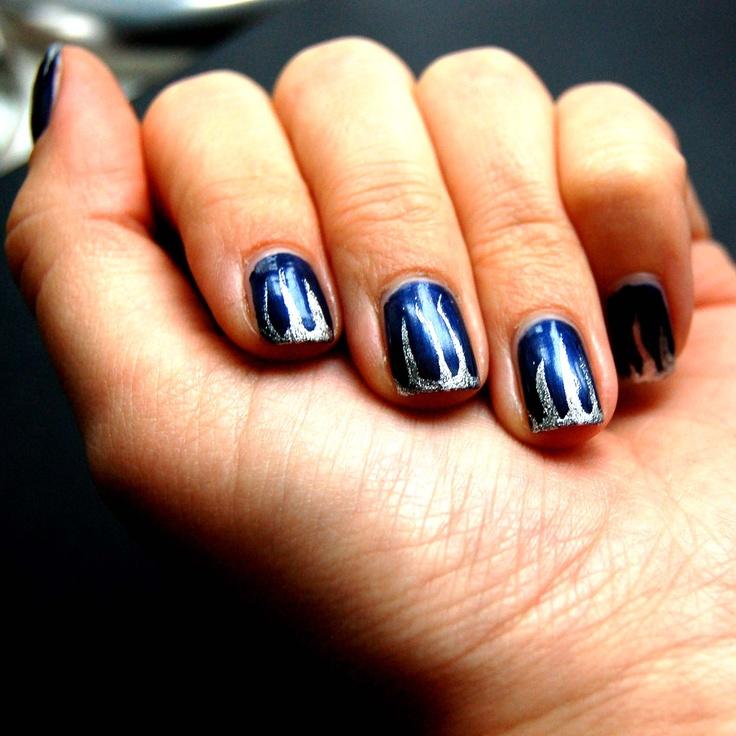 My nail art. Winter style.