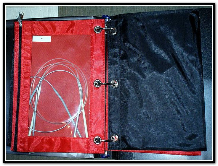 Knitting Needle Storage                                                                                                                                                                                 More
