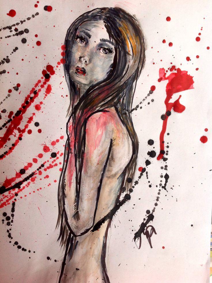 #illustration #shame #ArtFromThipi www.thipi.fi