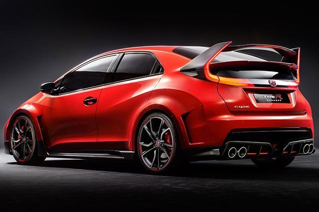 """Honda Civic Type R Concept - """"Auto da corsa per la strada"""" http://www.auto.it/2014/03/04/honda-civic-type-r-concept/19560/"""