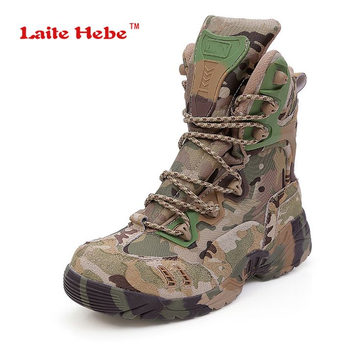 Laite Hebe Delta Tactical Military Boots Desert SWAT American Combat Boots Outdoor Shoes Breathable Army Camouflage Boots S39-45