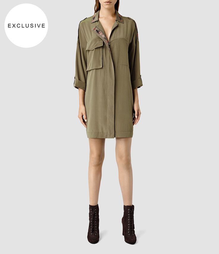 Women's Laurel Colt Dress (Khaki) - product_image_alt_text_1