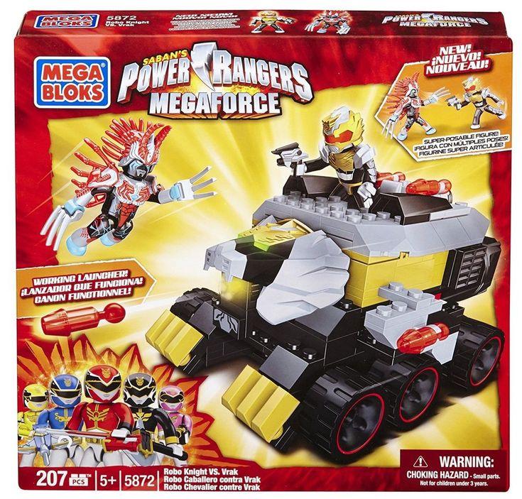 Mega Bloks Power Rangers Megaforce - Robo Knight vs Vrak | eBay