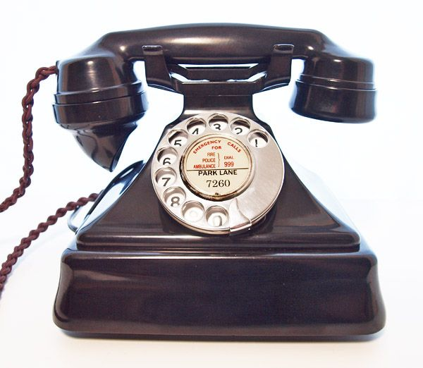 Best vintage: 1930s art deco telephone | V is for Vintage