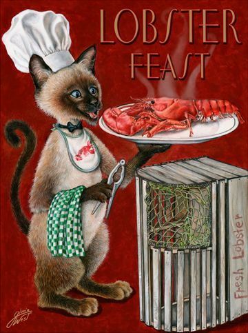 Gloria West / Cat chef - Lobster Feast