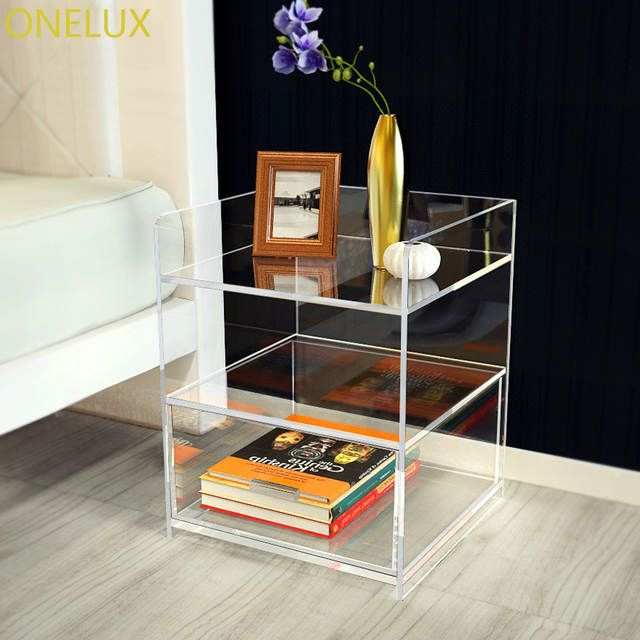 Online Shop Clear Acrylic Bedside Drawer Table Lucite Nightstand Perspex Sofa Tables Aliexpress Mob Terrace Furniture Acrylic Bedside Table Acrylic Furniture