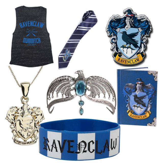 Ravenclaw by aniarkdk on Polyvore featuring polyvore, fashion, style, Warner Bros. and clothing