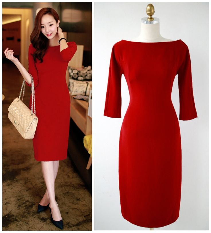Dashing Red Work Dresses