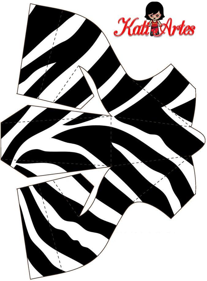Pieles de Animales: Zapatos de Papel para Imprimir Gratis.