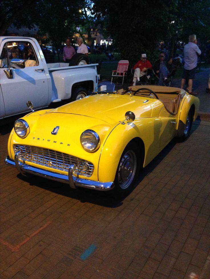 Triumph TR 3A  ( mine had wire wheels! )