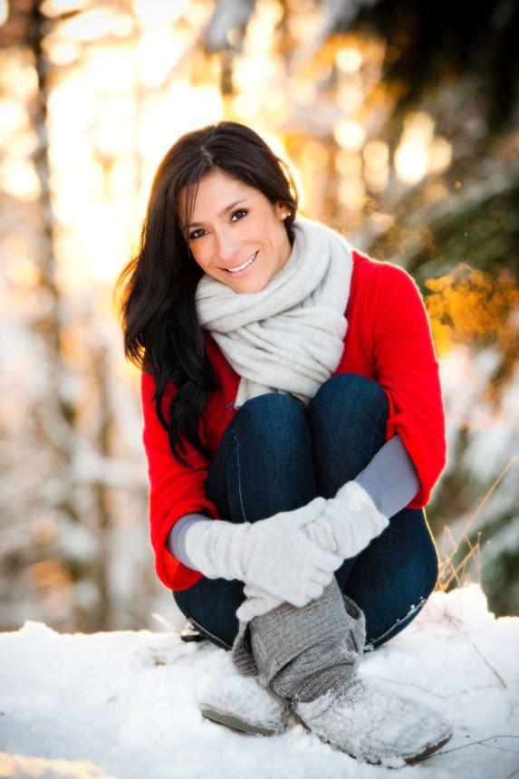 позы при фотографировании на улице зимой можно