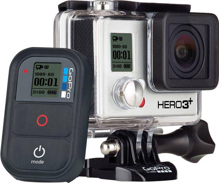 La caméra embarquée GoPro Hero 3+ Black Edition s'affiche au prix de 449€.