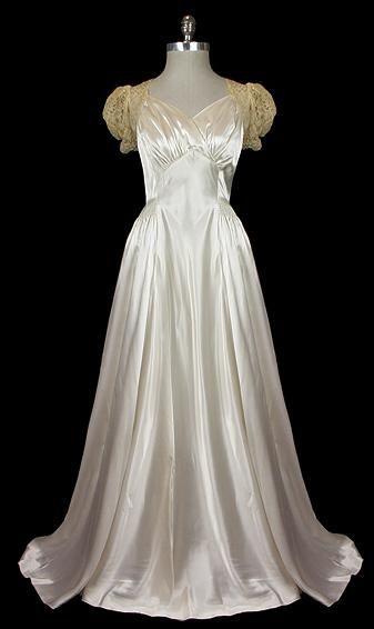 Wedding Dress    1940s    The Frock
