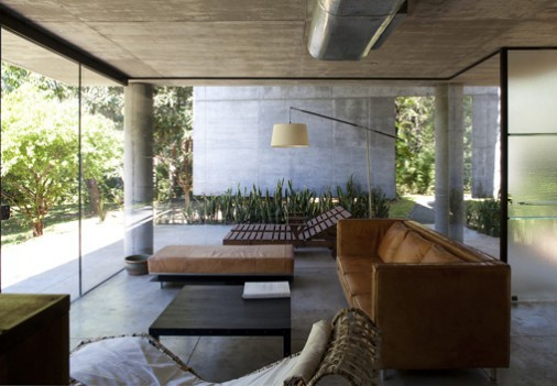 Solid Concrete Modern House Design by Laboratory of Architecture
