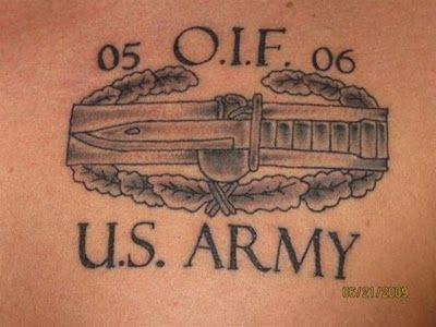 Wonderful US Army Tattoo